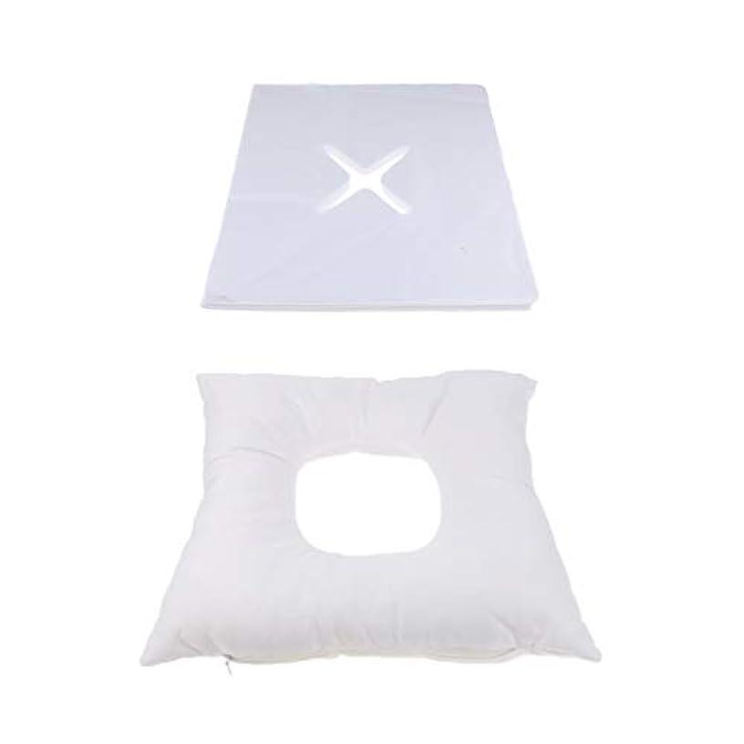 リッチ完璧なスキーフェイスマット マッサージ枕 顔枕 エステマクラ 200個使い捨てピローカバー付き サロン 家庭用