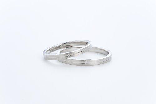 LEGAN マリッジリング 結婚指輪 ペアリング PT900 ...