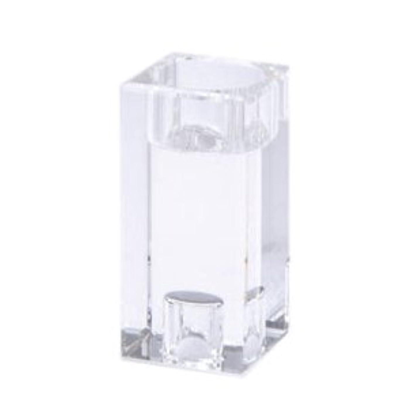 液体ピービッシュパーチナシティキャンドルホルダー クリスタ キューブ M