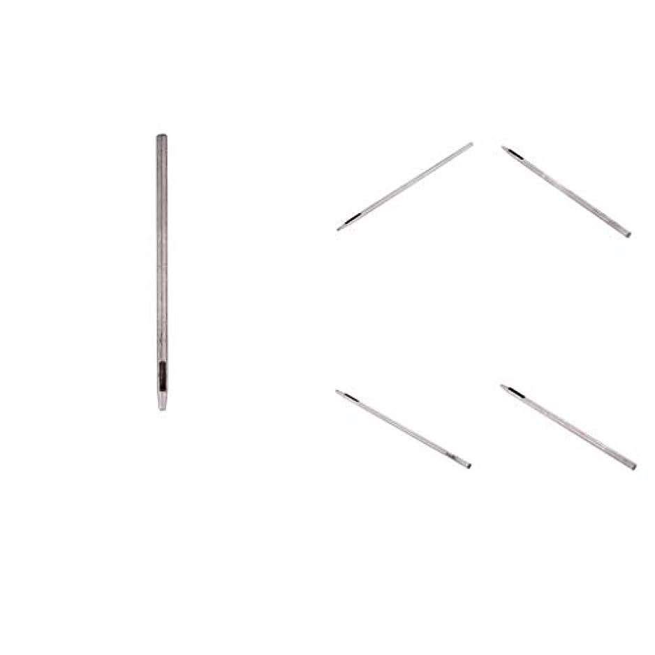 マイルラテンメダル5点セット 穴あけツール パンチ レザークラフト 高炭素鋼
