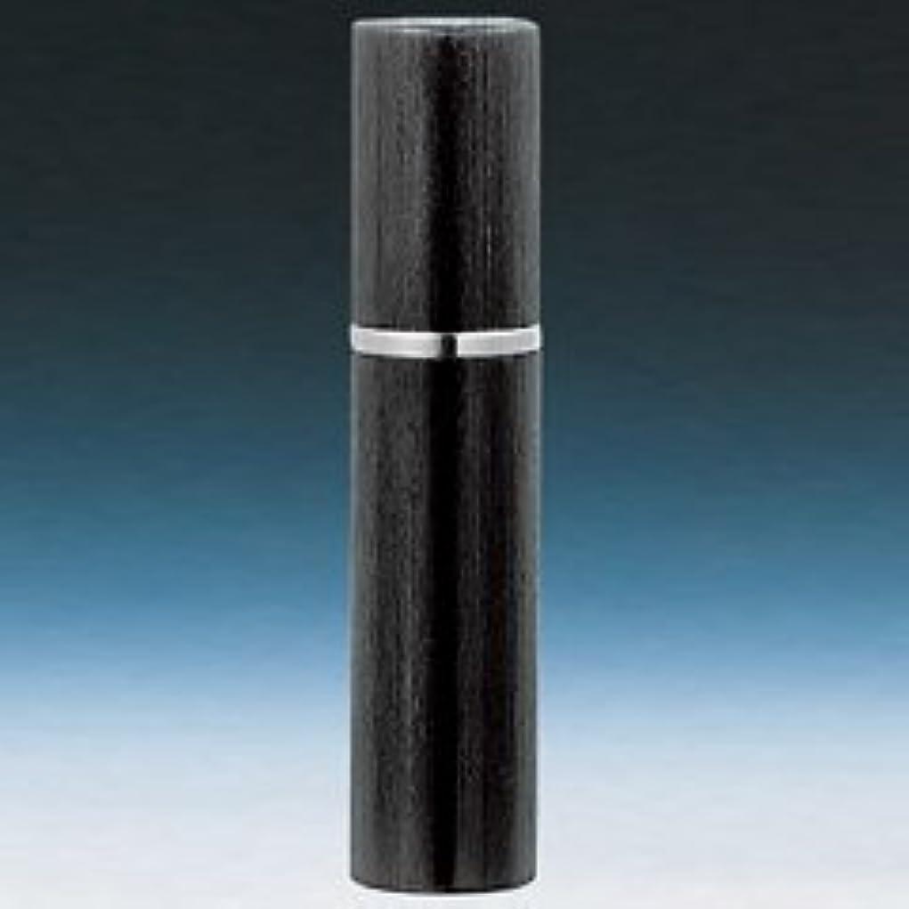 ロケット新しさ申請中【ヤマダアトマイザー】メンズアトマイザー 18544 17mm径 ヘアラインブラック 4ml