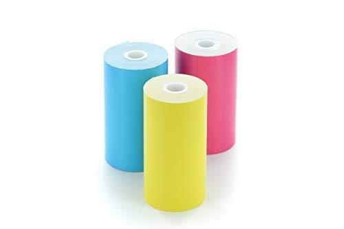 Cubinote Pro - 付箋紙3ロールコンボ(イエロー、ブルー、レッド)