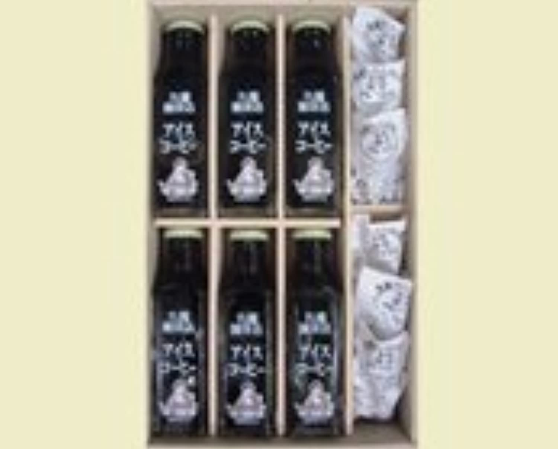 丸福珈琲店 瓶詰め珈琲6本セットフレッシュ付 アイス(無糖)