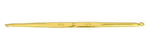 ハマナカ アミアミ 両かぎ針 長さ13.5cm 5/0-7/0号 H250-500-5