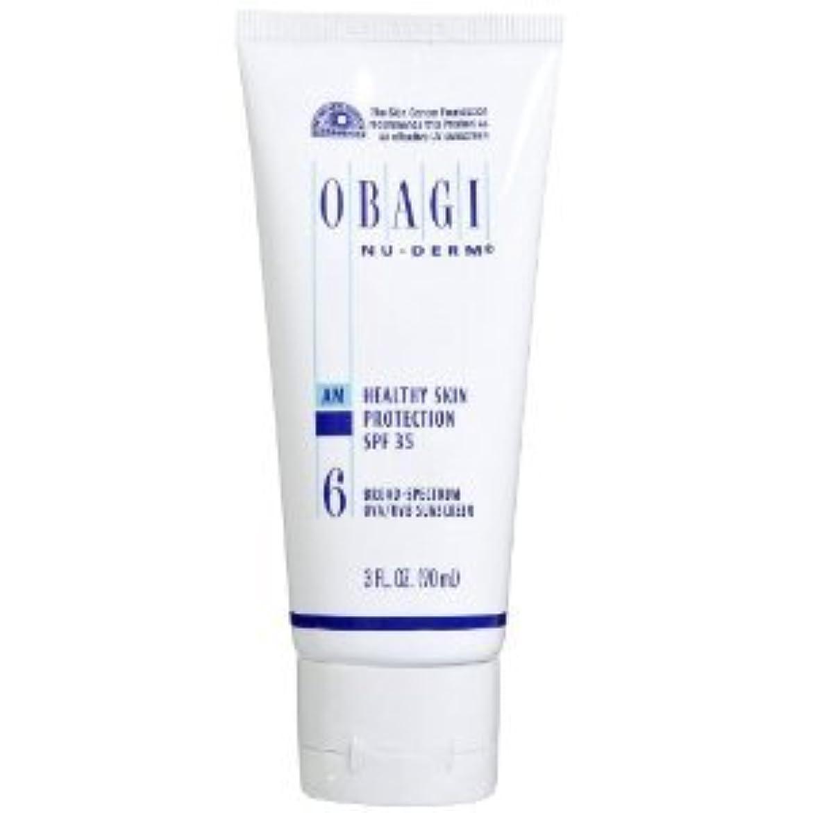 アピール試みさせるオバジ ニューダーム スキンプロテクション サンスクリーン(SPF35) Obagi Nu-Derm Healthy Skin Protection SPF 35 Sunscreens