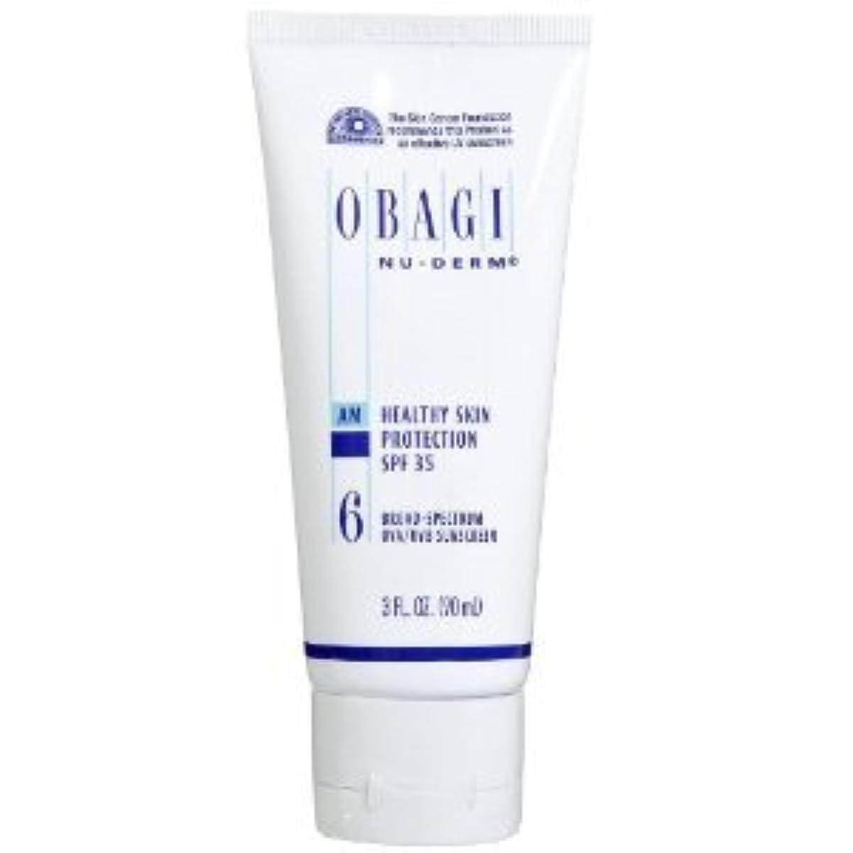 大使館著作権迷信オバジ ニューダーム スキンプロテクション サンスクリーン(SPF35) Obagi Nu-Derm Healthy Skin Protection SPF 35 Sunscreens