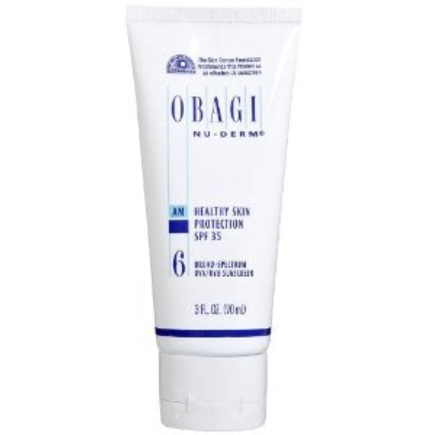 電子レンジ汚れた腐ったオバジ ニューダーム スキンプロテクション サンスクリーン(SPF35) Obagi Nu-Derm Healthy Skin Protection SPF 35 Sunscreens