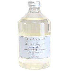 ランドリーソープ アロマ入り 液体 洗濯洗剤 フランス製 DURANCE(デュランス) 天然成分 防ダニ効果 南欧アロマの香り♪部屋干しでも良い香り♪500ml(ラベンダー)