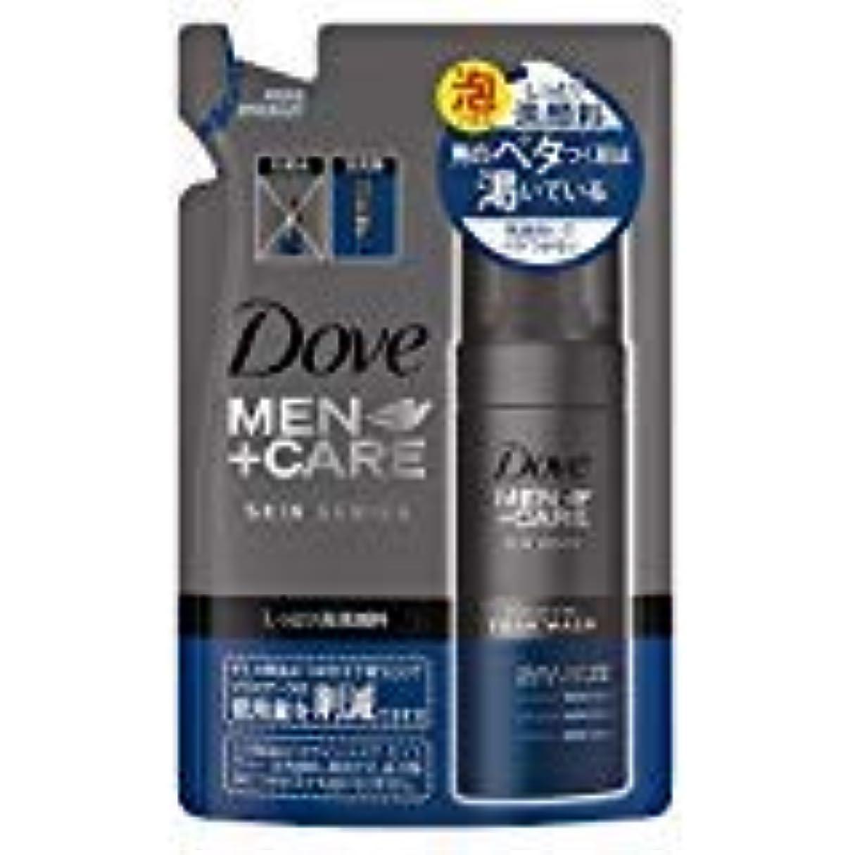 晩ごはん縮れた適度にダヴメン+ケア モイスチャー 泡洗顔料つめかえ用120ml×3点