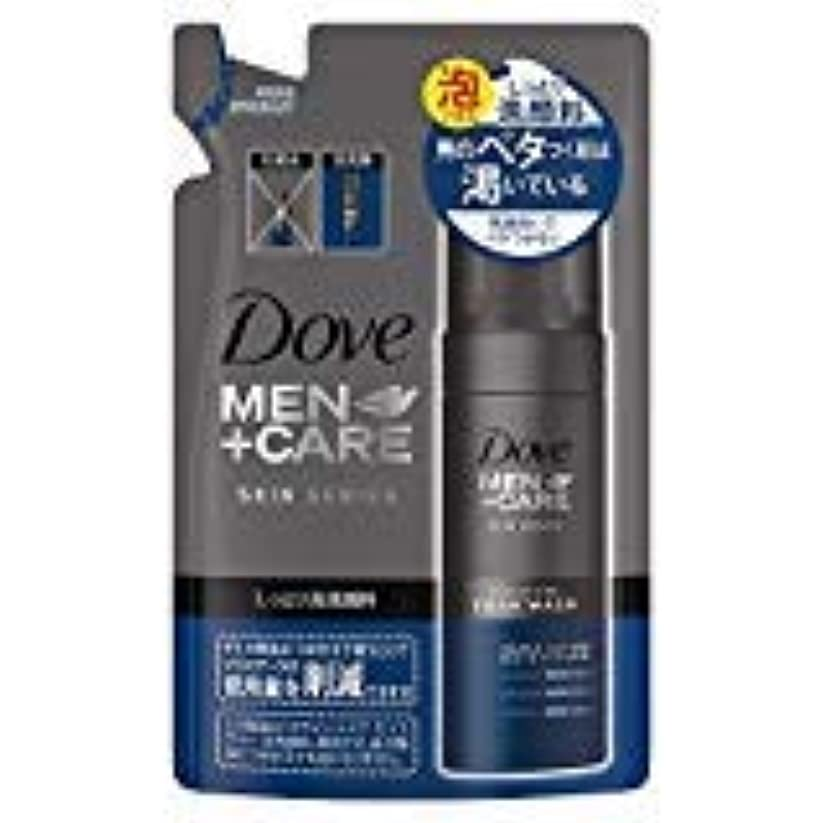 緩む無声で表示ダヴメン+ケア モイスチャー 泡洗顔料つめかえ用120ml×3点