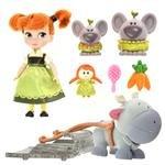 【 ディズニー 公式 】 ディズニー アニメーター コレクション ドール ミニプレイ セット アナ ( Disney 人形 プリンセス アナと雪の女王 グッズ ) 正規品