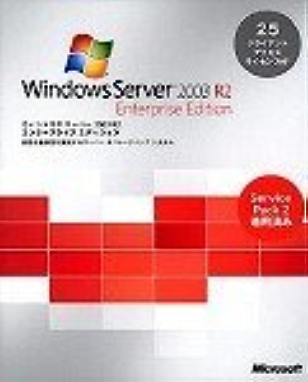 カウントアップ修道院拳Microsoft Windows Server 2003 R2 Enterprise w/SP2 25CAL付 日本語版