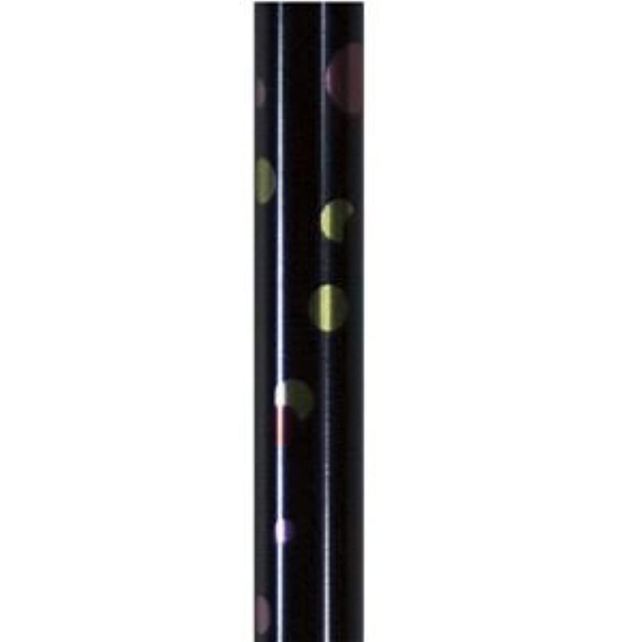 変換決定する不正確島製作所 ステッキ(伸縮) 伸縮細型ネックステッキ 水玉ネイビー 67-P4
