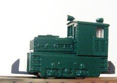 津川洋行  N  14004 日本牽引車製造 7t入替機関車 動力付 車体色 緑  B