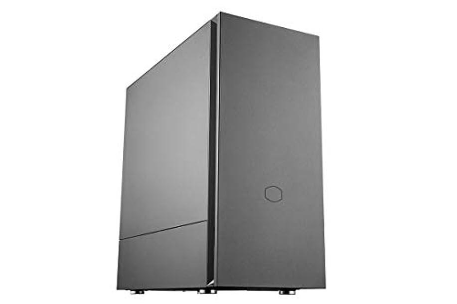 セミナー悪の輝度Cooler Master ミドルタワーPCケース Silencio S600 (MCS-S600-KN5N-S00)