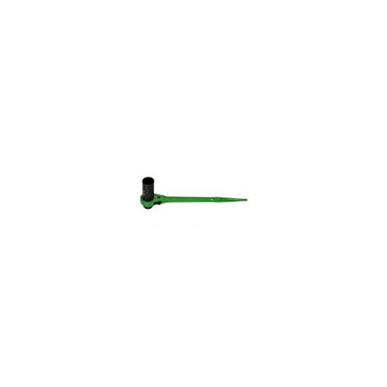 FM96098 片ロングソケット?両口ラチェットレンチ(爪式)六角対辺:12×14