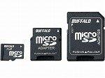 BUFFALO microSDカード 高速モデル(アダプタ付属) 1GB RMSD-BS1GA