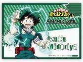 僕のヒーローアカデミア ヒロアカ Animax Cafe+ コラボカフェ スイパラ コラボメニュー特典 ランチョンマット 緑谷出久