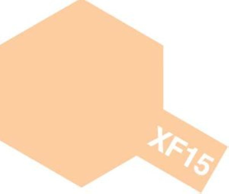 タミヤカラー アクリル塗料ミニ XF15 フラットフレッシュ (つや消し FLAT)