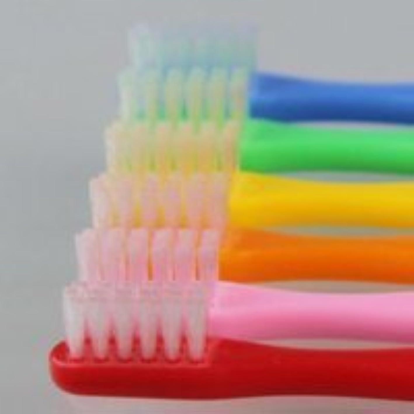 死傷者つま先司教サムフレンド 歯ブラシ #10(乳歯~6才向け) 6本 ※お色は当店お任せです