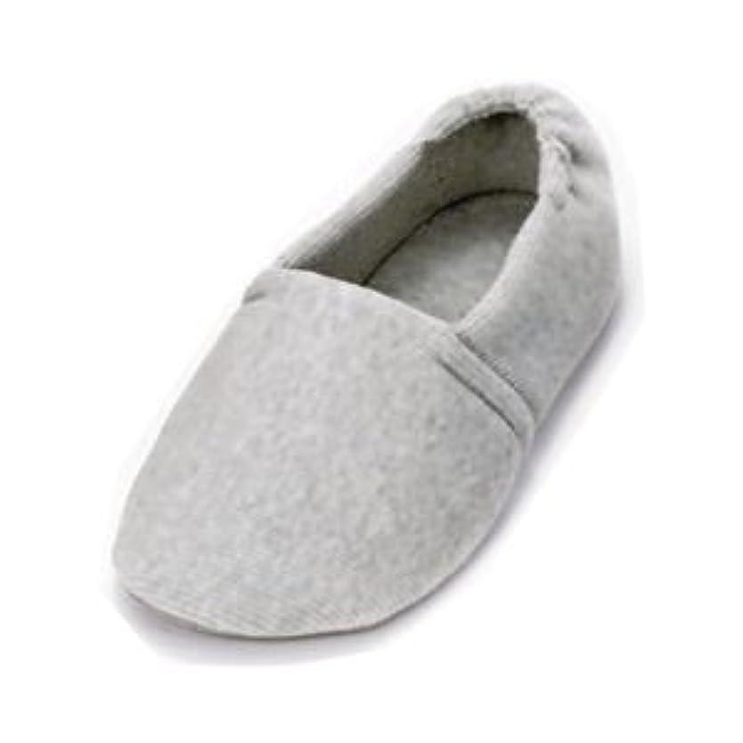 誇りノート囲い介護靴 室内用 エスパド 2004 両足 徳武産業 あゆみシリーズ / M グレー