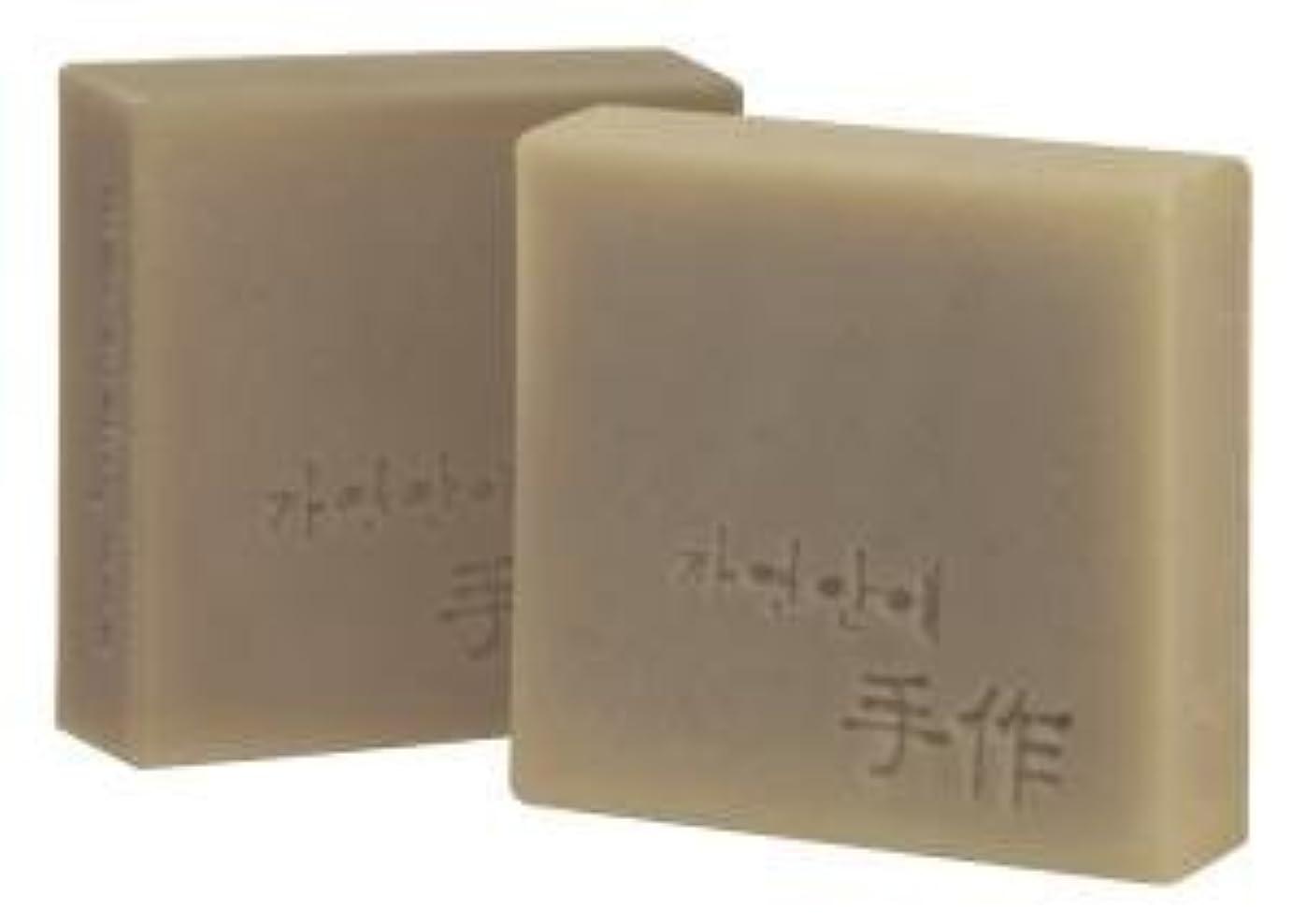 単なる非常にコンピューターNatural organic 有機天然ソープ 固形 無添加 洗顔 (梅) [並行輸入品]