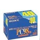 SONY 3.5型2HD PC98用フォーマット済フロッピーディスク 40枚 40MF2HDGEPC