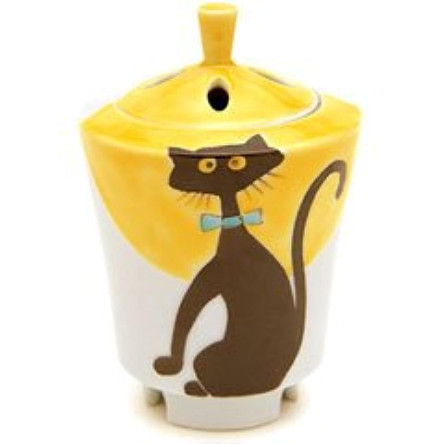 ぐるぐる壮大な酔って香炉 流麗 黒猫