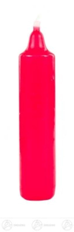 付属品の出現の蝋燭、およそ 2.25 cmx11,5 cm の鉱石山の蝋燭のワックスの蝋燭の赤 (4) の幅 X の高さ