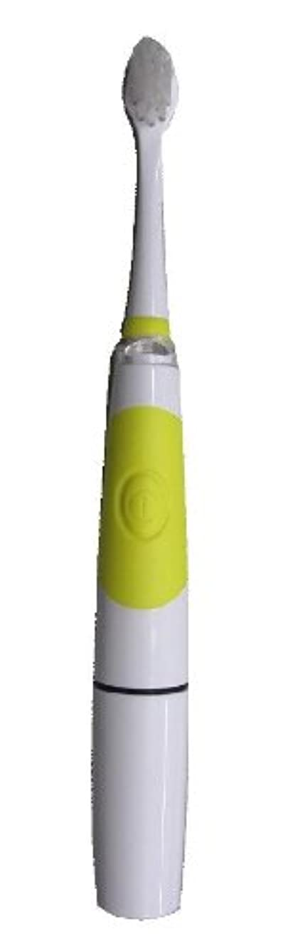 コードレス貝殻羊飼いヤザワ 子供用電動歯ブラシ LED内蔵 オートオフ機能付 KIDS11YL