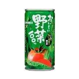 サンガリア おいしい 野菜100% 190g缶 30本入