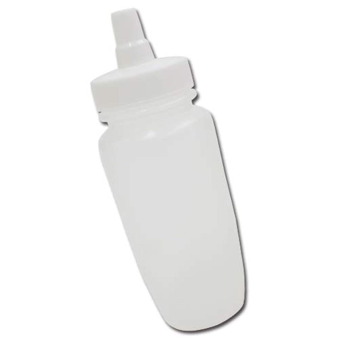 レンジ誘うストライクはちみつ容器180ml(ホワイトキャップ)│業務用ローションや調味料の小分けに詰め替え用ハチミツ容器(蜂蜜容器)はちみつボトル
