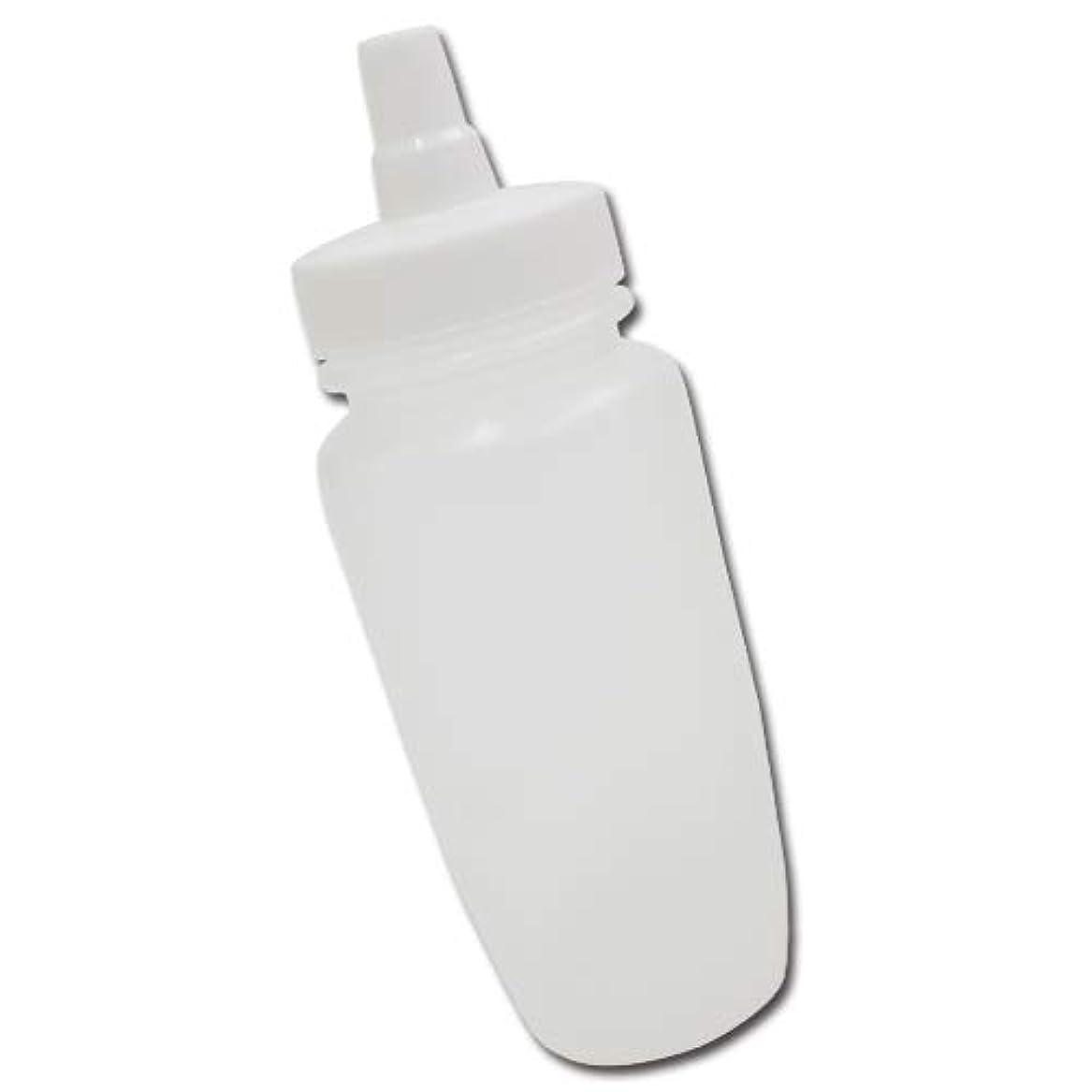廃棄反発するエーカーはちみつ容器180ml(ホワイトキャップ)│業務用ローションや調味料の小分けに詰め替え用ハチミツ容器(蜂蜜容器)はちみつボトル