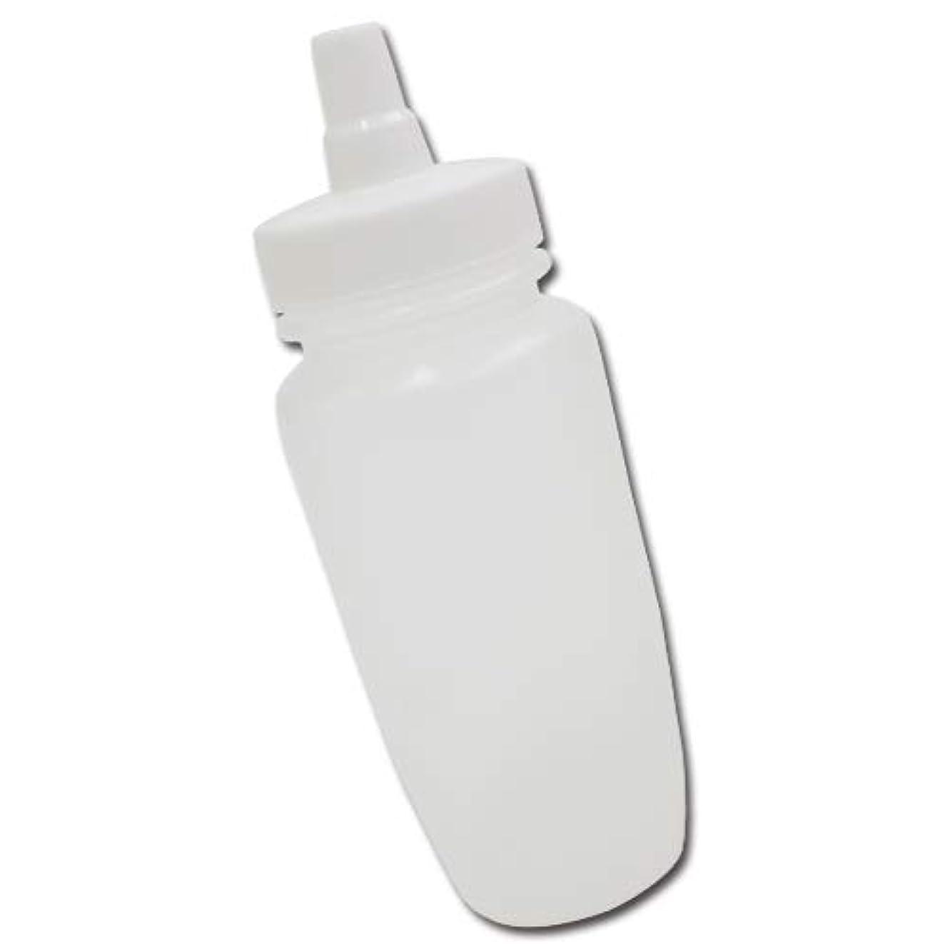 考案するロータリーピンポイントはちみつ容器180ml(ホワイトキャップ)│業務用ローションや調味料の小分けに詰め替え用ハチミツ容器(蜂蜜容器)はちみつボトル