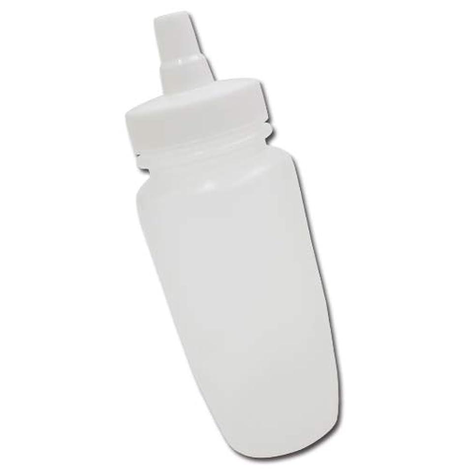過激派地図放射能はちみつ容器180ml(ホワイトキャップ)│業務用ローションや調味料の小分けに詰め替え用ハチミツ容器(蜂蜜容器)はちみつボトル