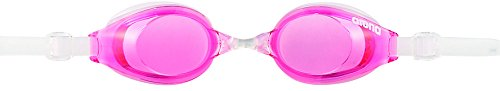 arena(アリーナ) 水泳 ゴーグル グラス フィットネスゴーグル クッションタイプ フリーサイズ AGL520 ピンク×クリア(CPNK) くもり止め