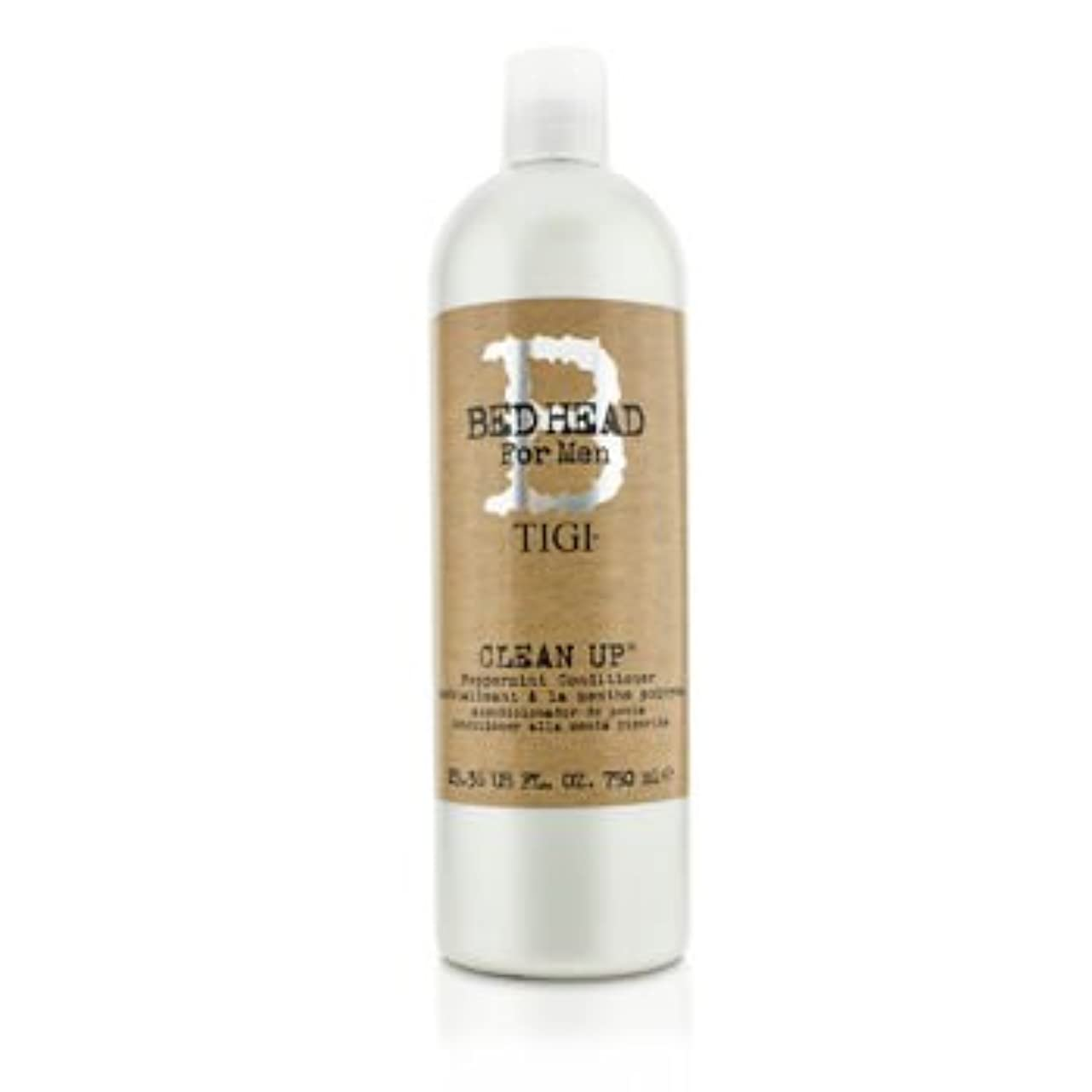 パーティションファンドカテナ[Tigi] Bed Head B For Men Clean Up Peppermint Conditioner 750ml/25.36oz