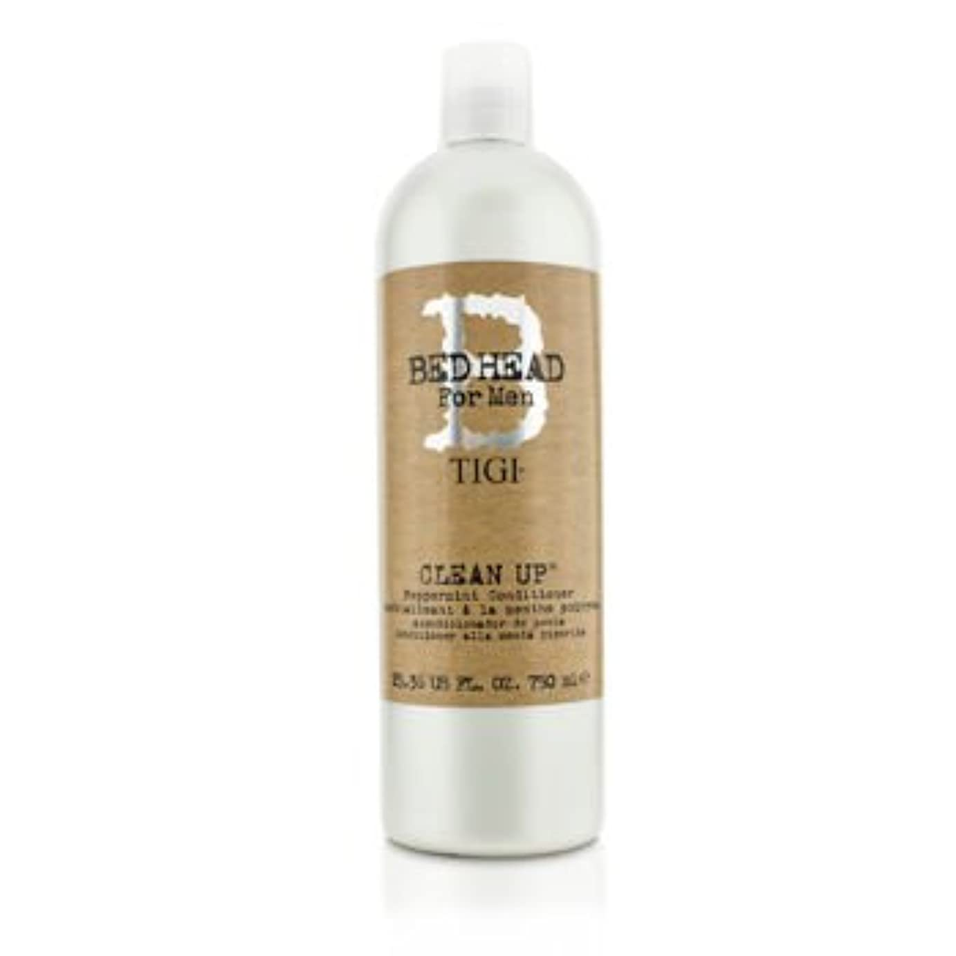 リップ切るスーパーマーケット[Tigi] Bed Head B For Men Clean Up Peppermint Conditioner 750ml/25.36oz