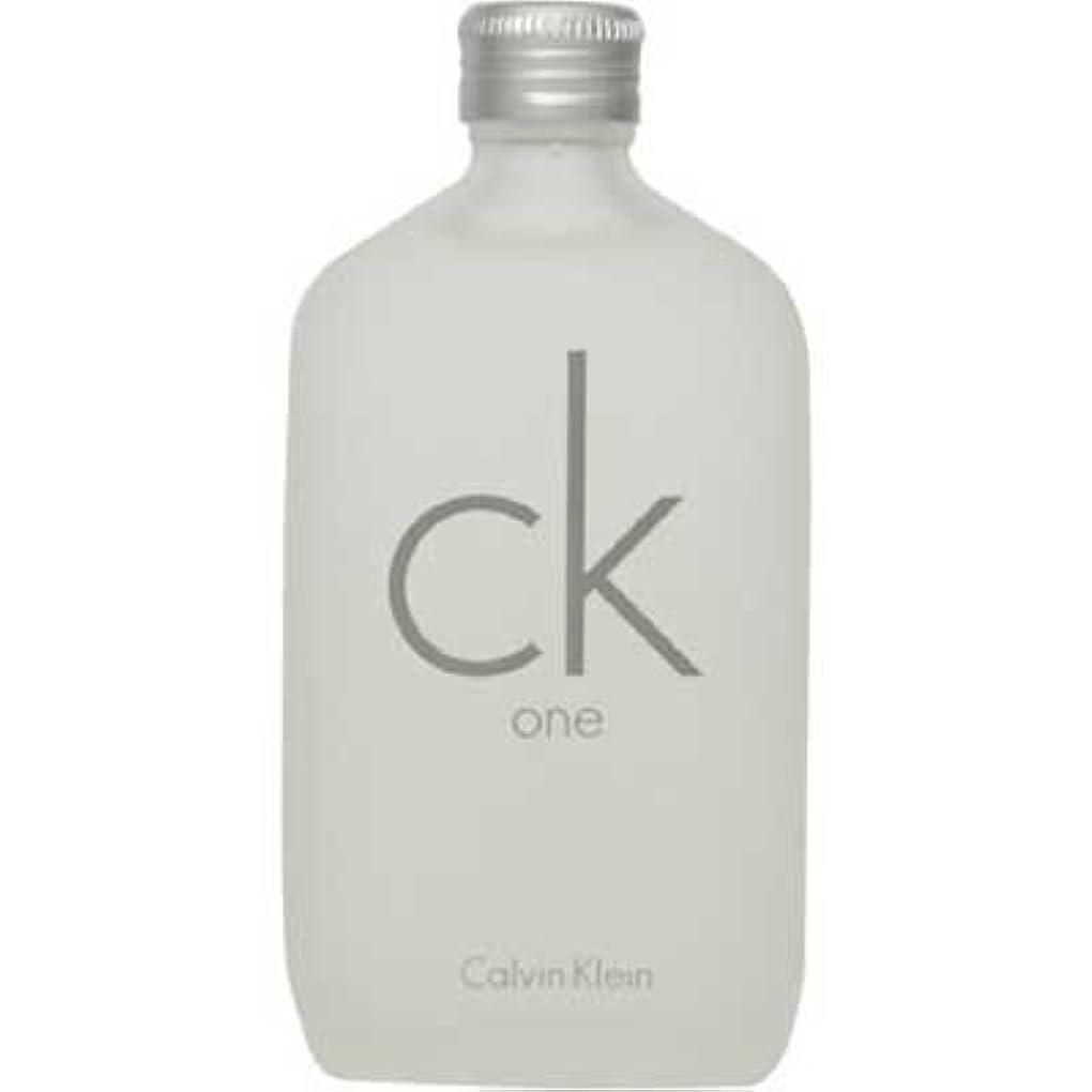 サンダーディスク真実にck Calvin Klein シーケーワン 100ml EDT [107407/125014] [並行輸入品]