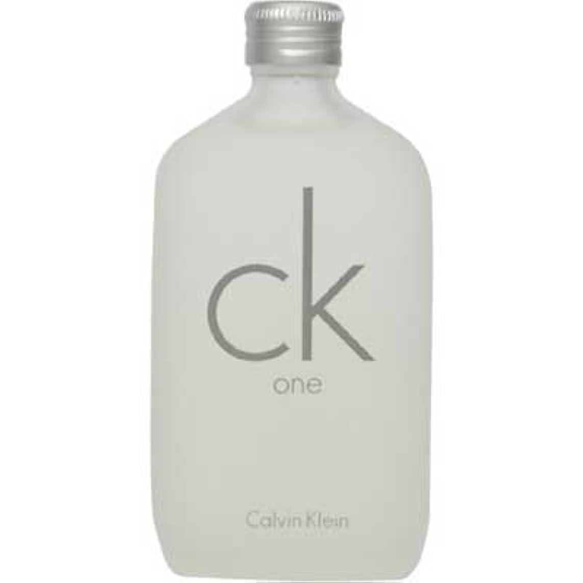 富明日推進力ck Calvin Klein シーケーワン 100ml EDT [107407/125014] [並行輸入品]