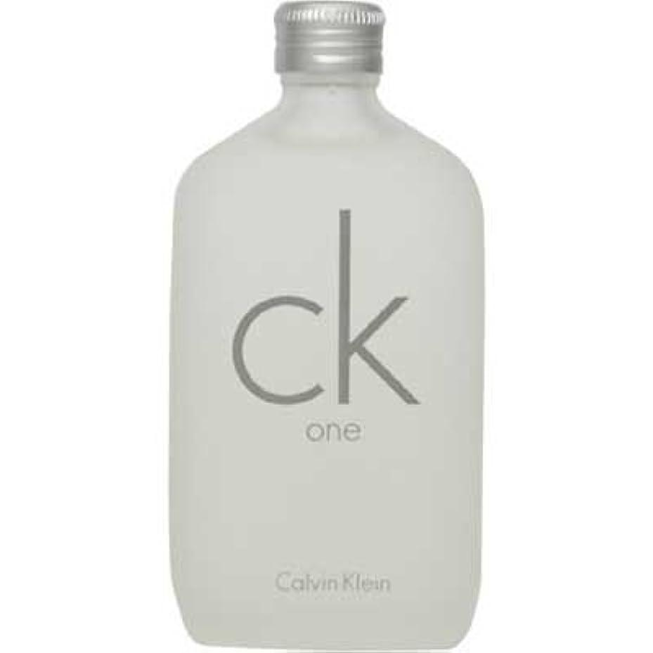 エレベーター徹底ポイントck Calvin Klein シーケーワン 100ml EDT [107407/125014] [並行輸入品]