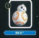 チョコエッグ Star Wars2 : 1.BB-8