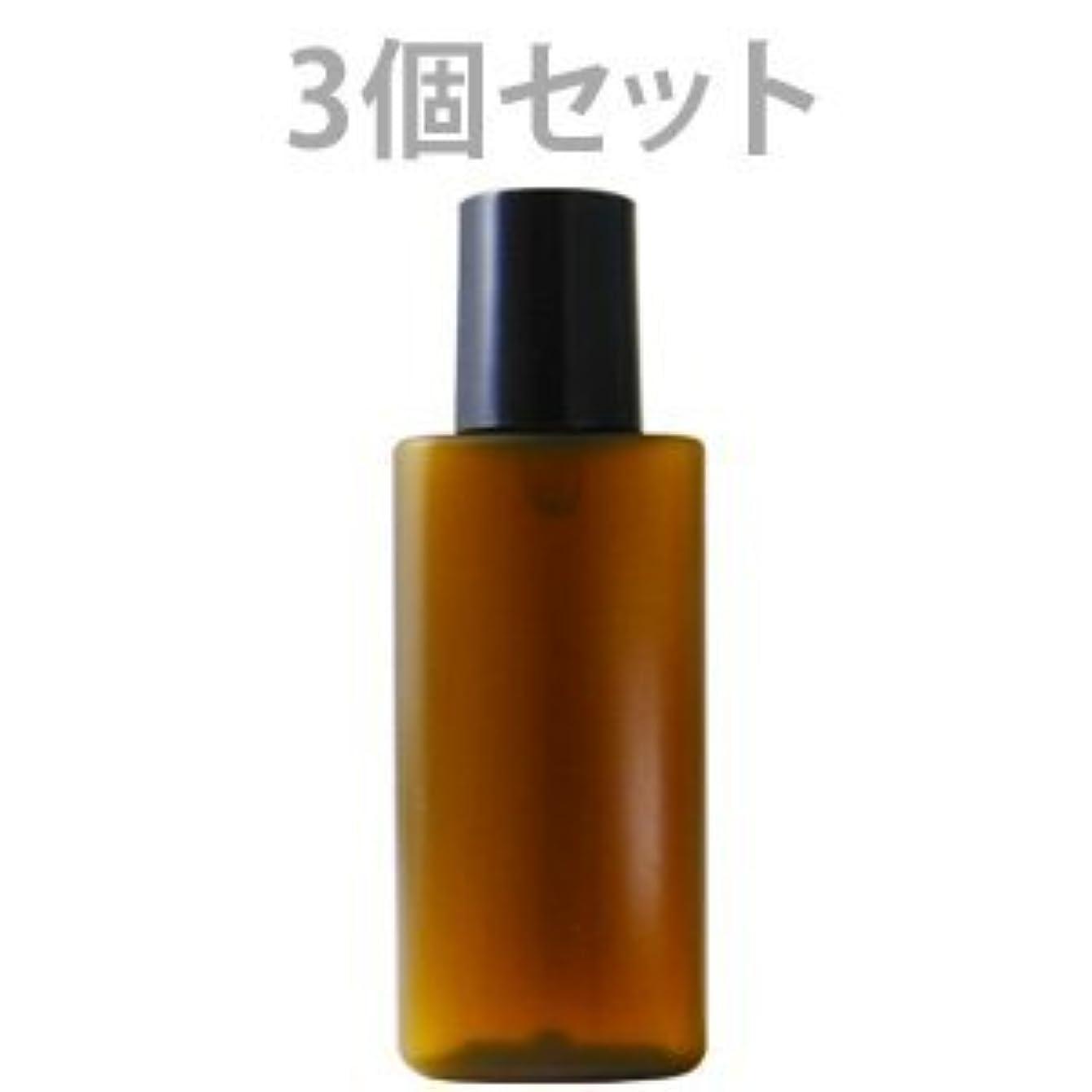 からペリスコープスペイン遮光ミニプラボトル容器 20ml (茶) (3個セット)