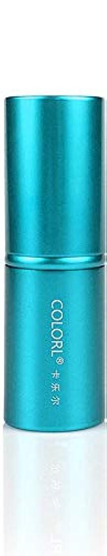 呼びかける女の子ボタンCOLORL メイクブラシ 1本 化粧ブラシ 化粧筆 ファンデーションブラシ フェイスブラシ パウダーブラシ 多機能 レイクブルー