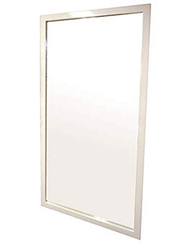 BW-397WH 幅 90㎝ 高さ 180㎝ 色: ホワイト 鏡面 : 飛散防止加工 商品サイズ 幅90cm × 奥行3.5cm × 高さ180cm 鏡面 サイズ 幅79cm × 高さ169cm
