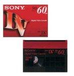 ソニー ミニデジタルビデオカセット 3DVM60R3