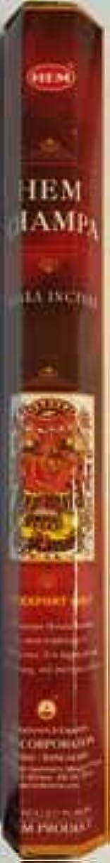 賢明な上流の機密Champa Healing Incenseアロマセラピー裾スティック20パック ISH20CHAx6