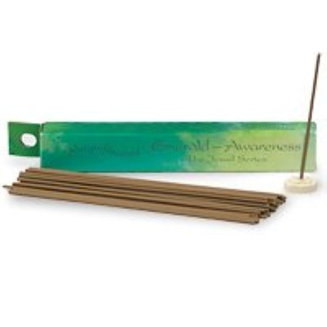 最大限物思いにふける溶融Shoyeido's Emerald Incense 30 sticks