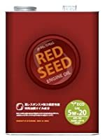 REDSEED (レッドシード) エンジンオイル 4輪用 [ECO LINE] RS-CK 【5W-20】【SN/GF5】 全合成油 【容量 : 1L 】 RS-CK01