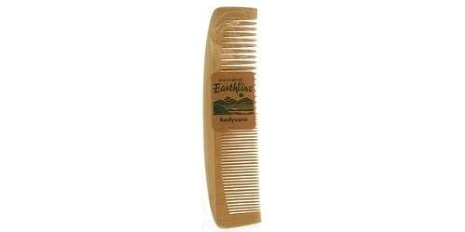 畝間柔和ドループEarthline: Wooden Comb Large 602 [並行輸入品]